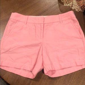 J. Crew Pink Shorts